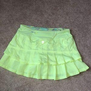 Ivivva Neon Tennis Skirt